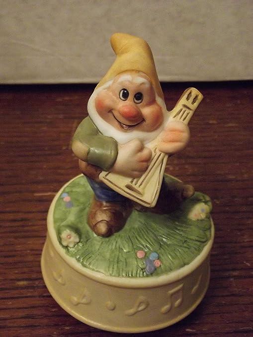 Vintage Schmid Disney - Caja de música, diseño de Personajes ...