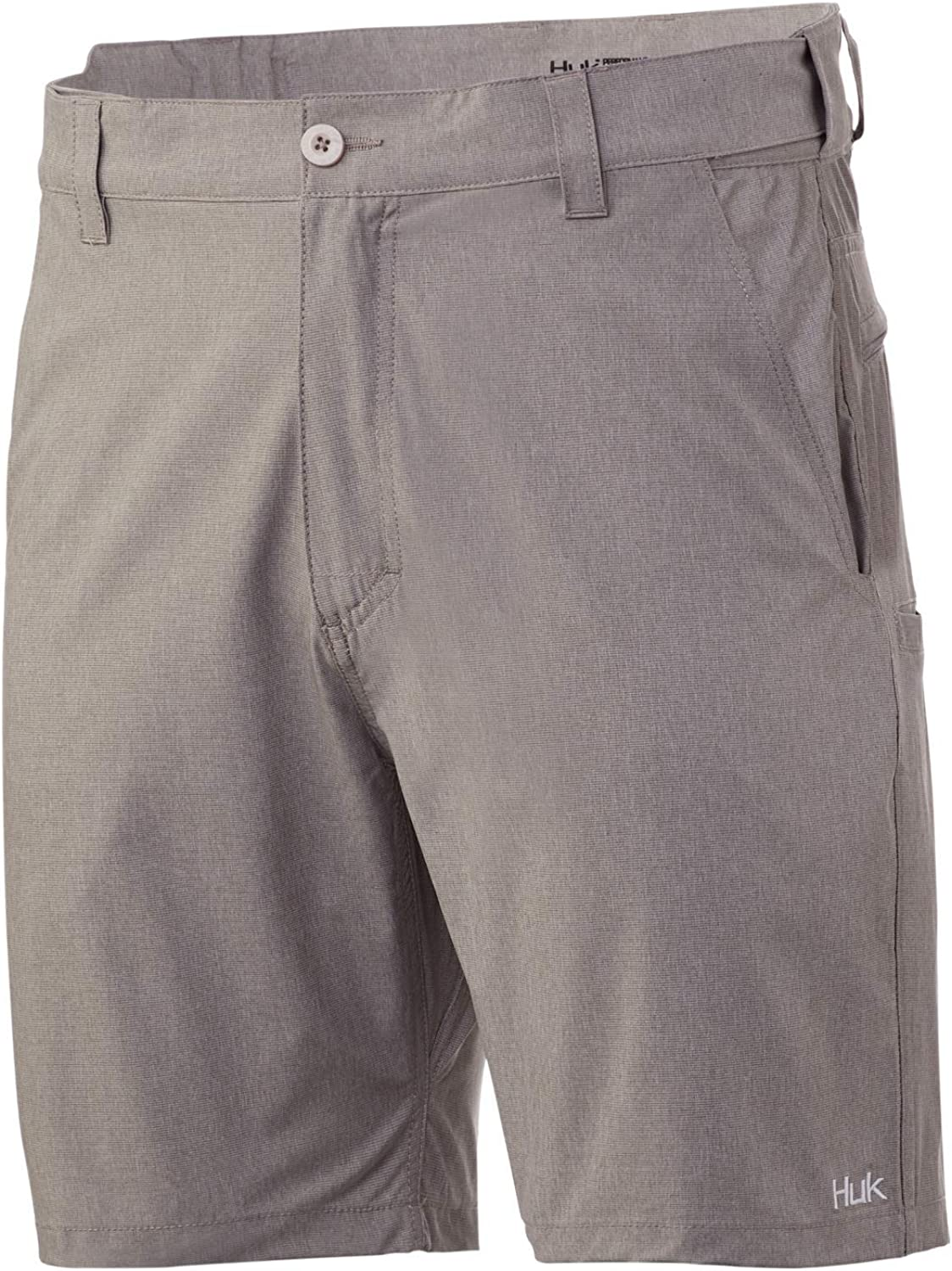 HUK Mens Beacon Short | Quick-Drying Performance Fishing Shorts with UPF 30+ Sun Protection