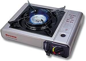 Butsir COCH0001 Cocina Portátil, Acero, Plateado