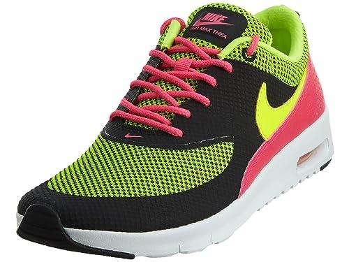 the best attitude 06b82 df60a Nike Girls  Air Max Thea, Black Hyper Pink White Volt,