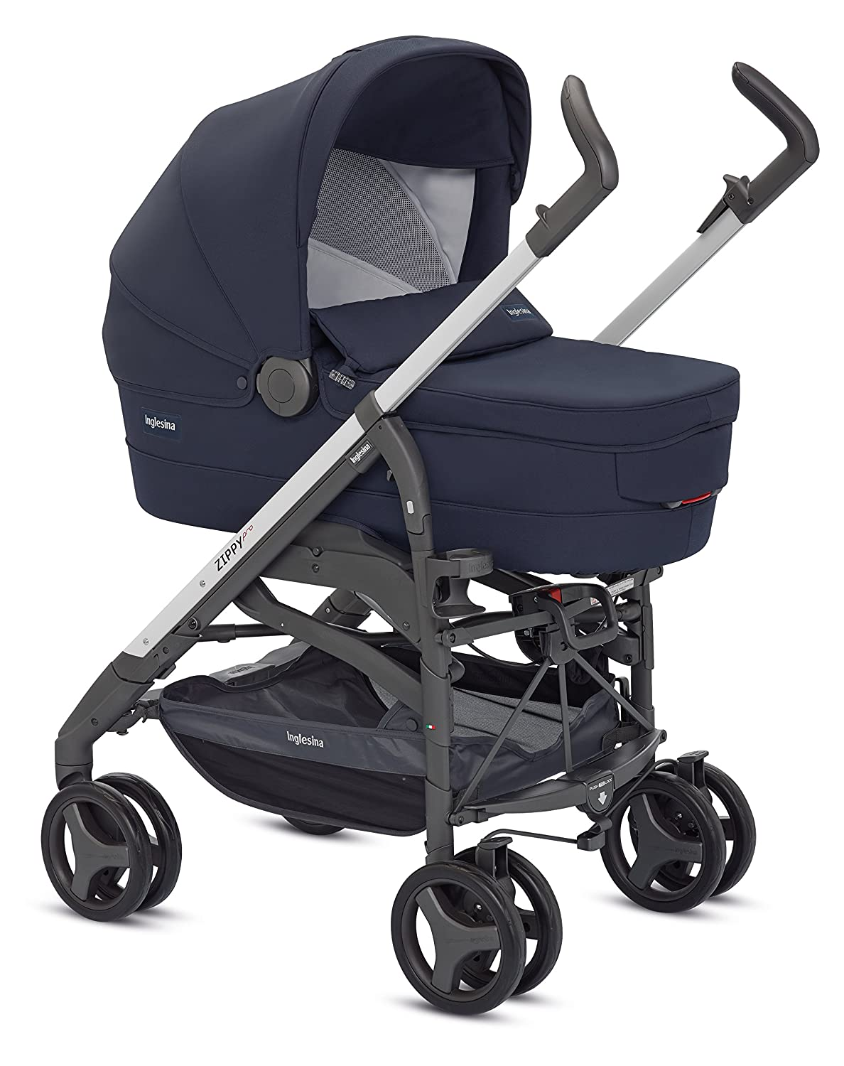 Silla de paseo Twin Swift Marina Inglesina AH84E0MAR color azul marino