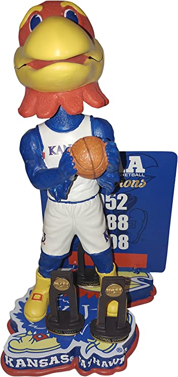 Beware of the Phog Kansas University Jayhawks Multiple Mens College Basketball National Championships Bobblehead Bobble head Individually Numbered to Only 360