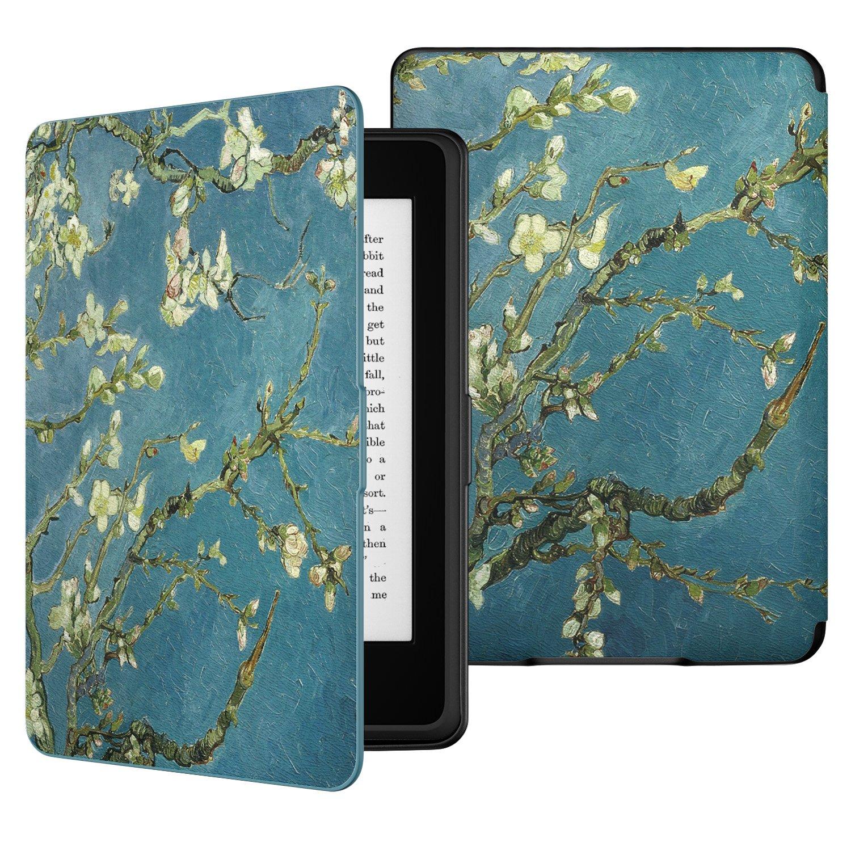 MoKo Kindle Paperwhite Funda Ultra Slim Ligera Smart Shell Case Cover con