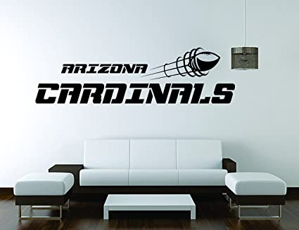 6e0e9d8c Amazon.com: Arizona Cardinals Wall Mural Vinyl Decal Sticker Decor ...