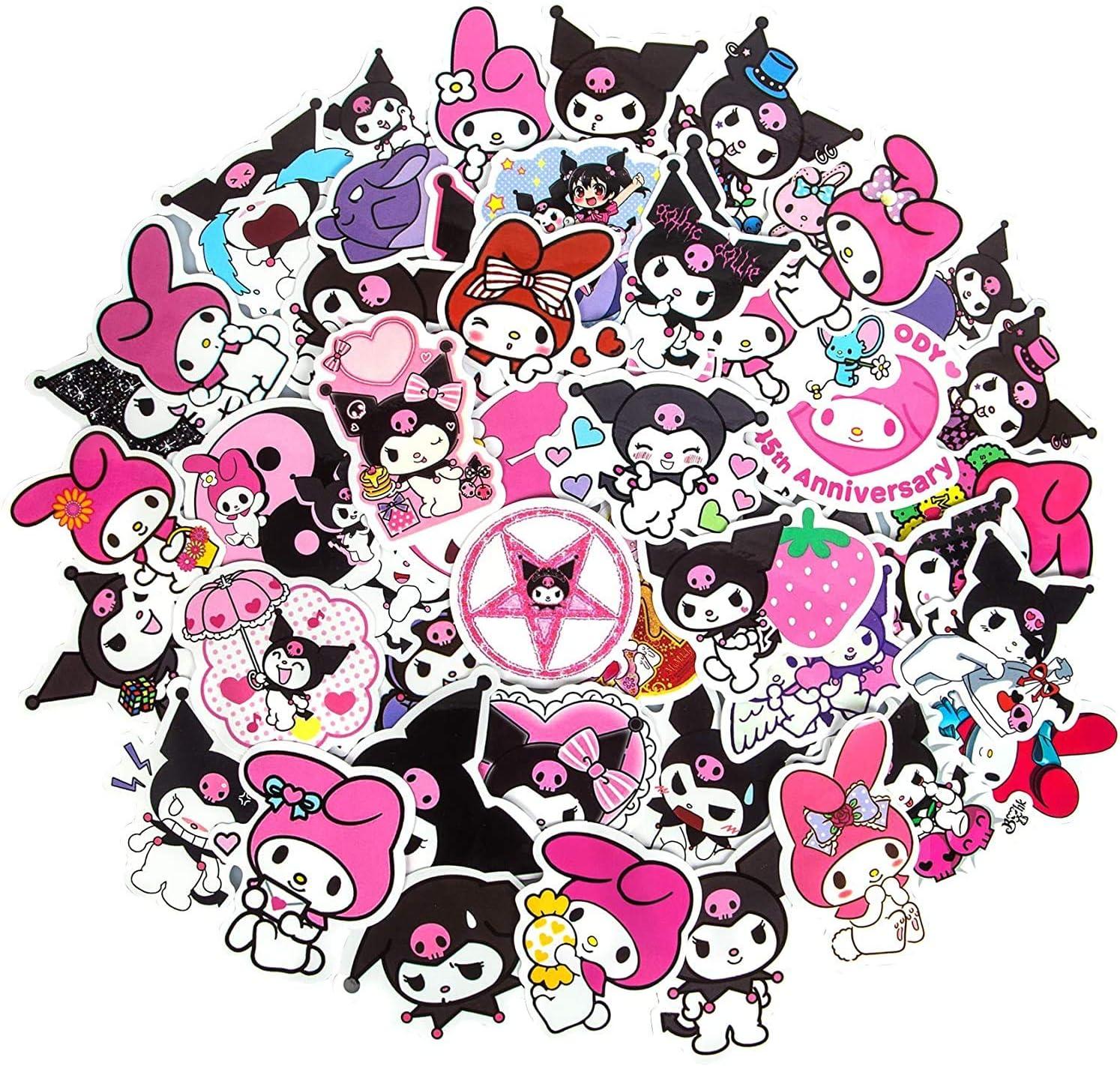 100 Kuromi Stickers