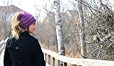 Women's Slouchy Beanie with Hole