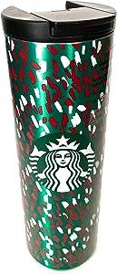 Starbucks Green Confetti Holiday 2019 16 Fl Oz Vacuum Insulated Tumbler