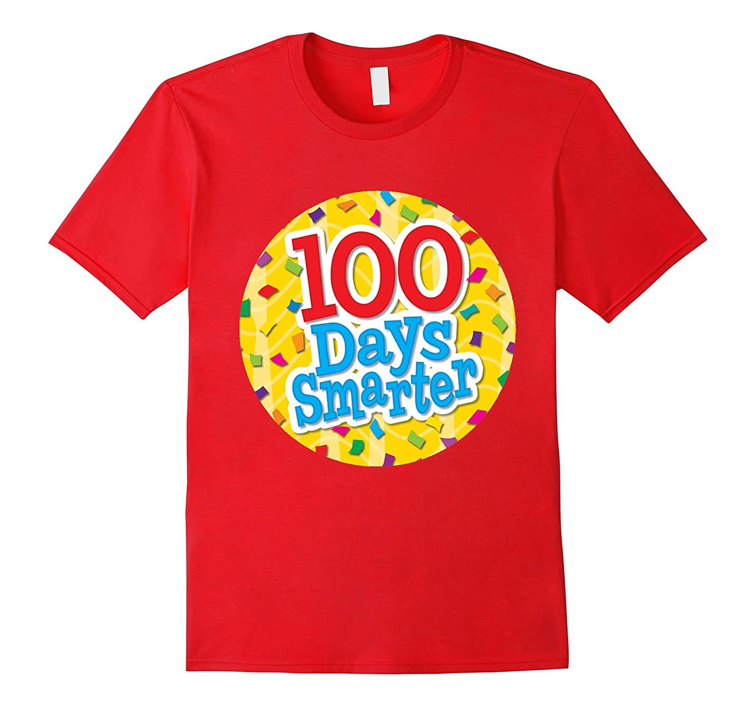 100th Days Smarter TShirt For Teachers-CD