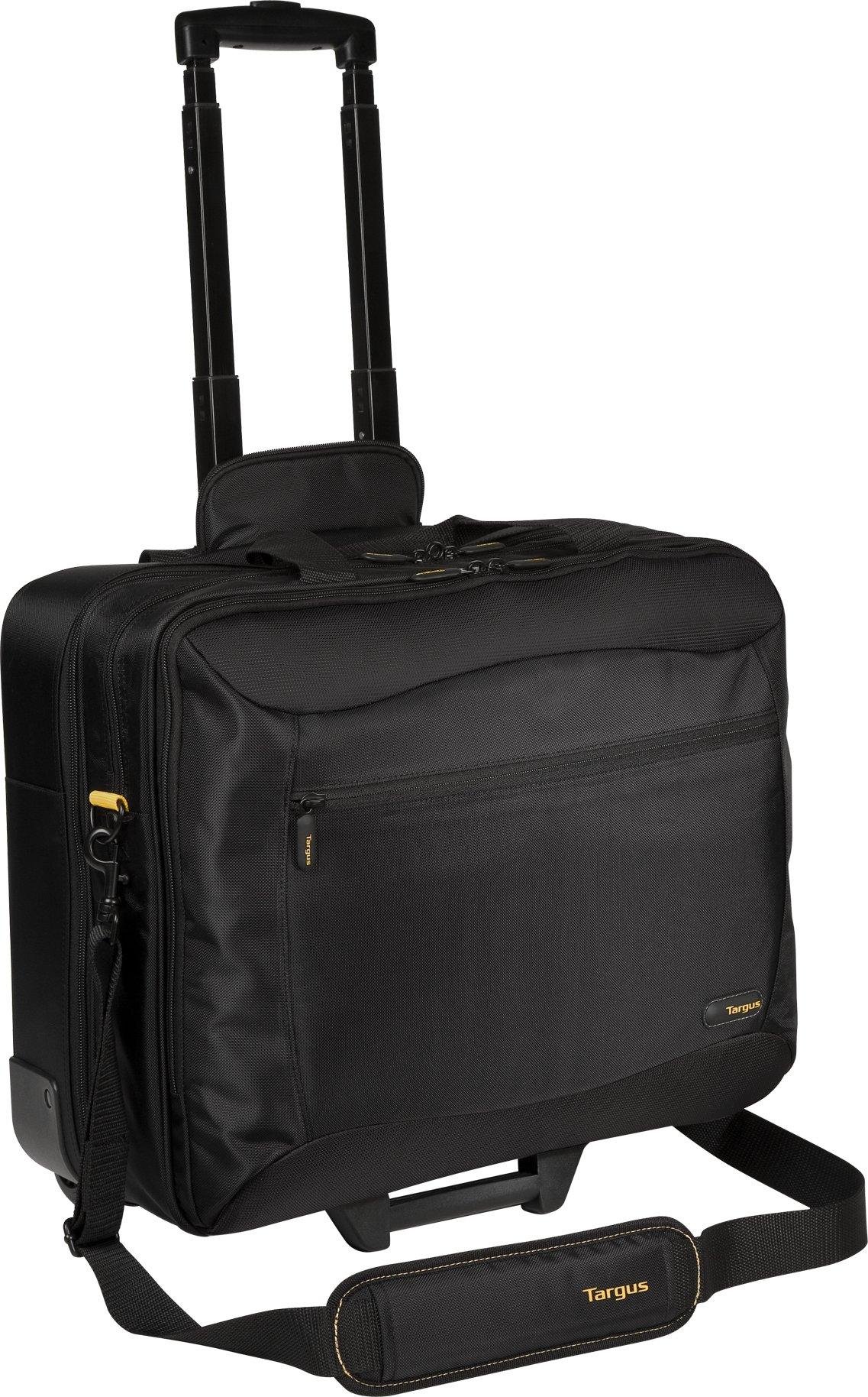 Targus CityGear Rolling Travel Case for 17.3-Inch Laptops, Black (TCG717)