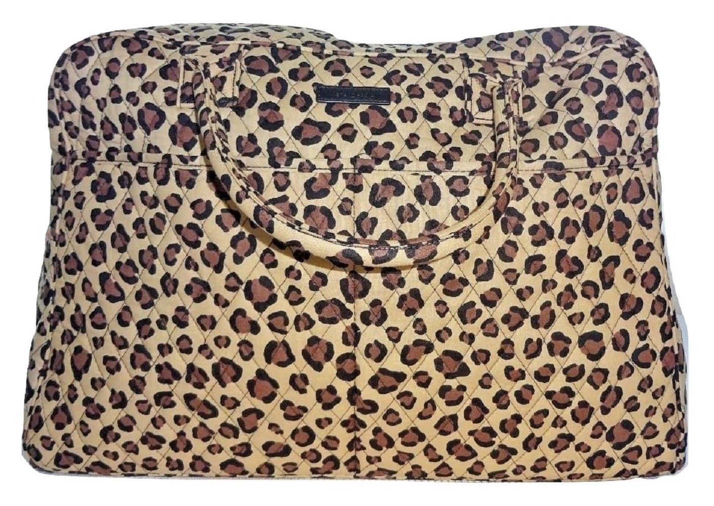 Vera Bradley Weekender, Signature Cotton (Leopard)