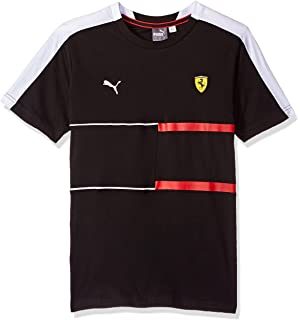 900a4251e817 Puma Men s Scuderia Ferrari Big Shield T-Shirt  Amazon.in  Clothing ...
