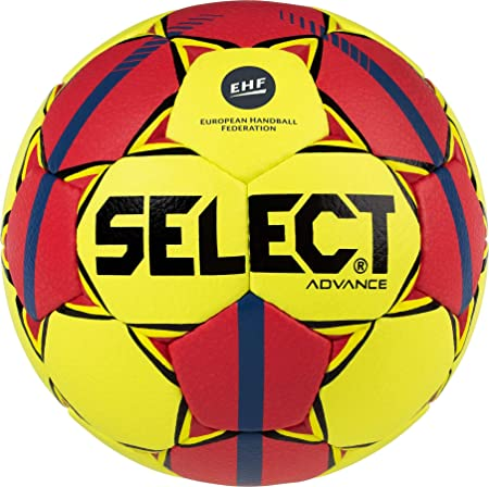 Select Balonmano Advance, Balonmano, Amarillo/Rojo/Azul: Amazon.es ...