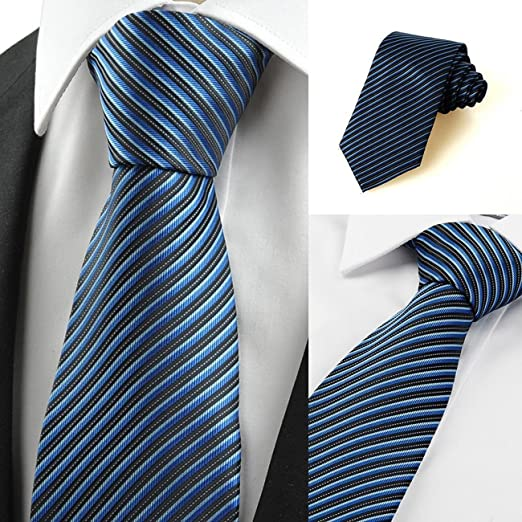 Mon5f Home Corbata de Corbata con Corbata de Traje de Jacquard de ...