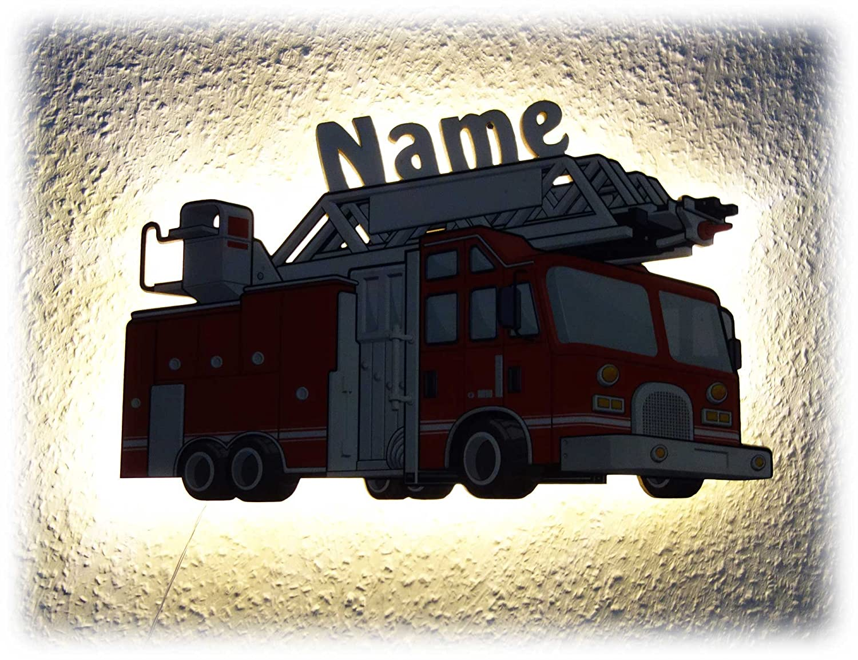 Kinderzimmer Lampe Nachtlicht Feuerwehr-Geschenke für Jungs Junge ...