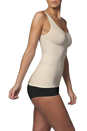 SLEEX Figurformendes Damen Unterhemd (mit Support) (44041)