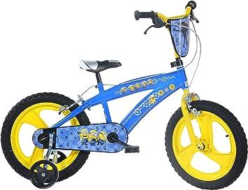 Dino Bikes- Bicicleta Infantil con Licencia Los Minions de 16 Pulgadas (5 a 8 años, 165 XC-Min: Amazon.es: Juguetes y juegos