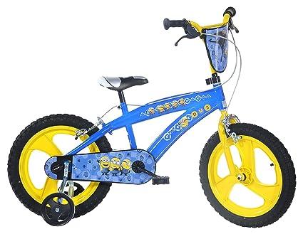 Amazon.com: Dino Bikes 165 xc-min Boy Minions 16 Bicicleta ...