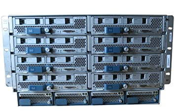 Cisco UCS 5108 Blade Server Rack 8x UCS B200 M2 w/ Fans PSU: Amazon