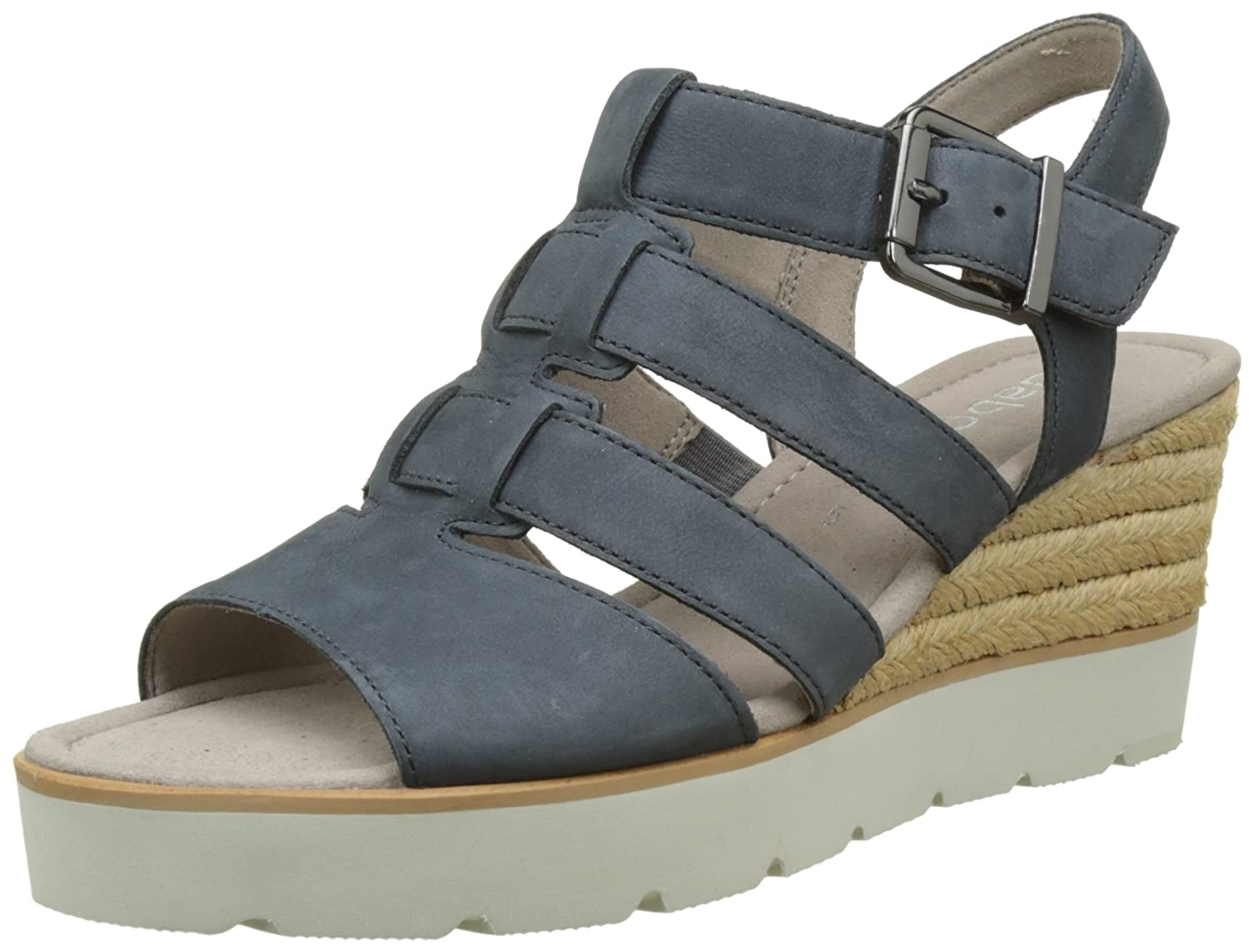 Gabor Shoes Fashion, Bout (River Sandales Bout Ouvert Femme B07HRD1X1V Bleu (River 36) 8de83b8 - piero.space