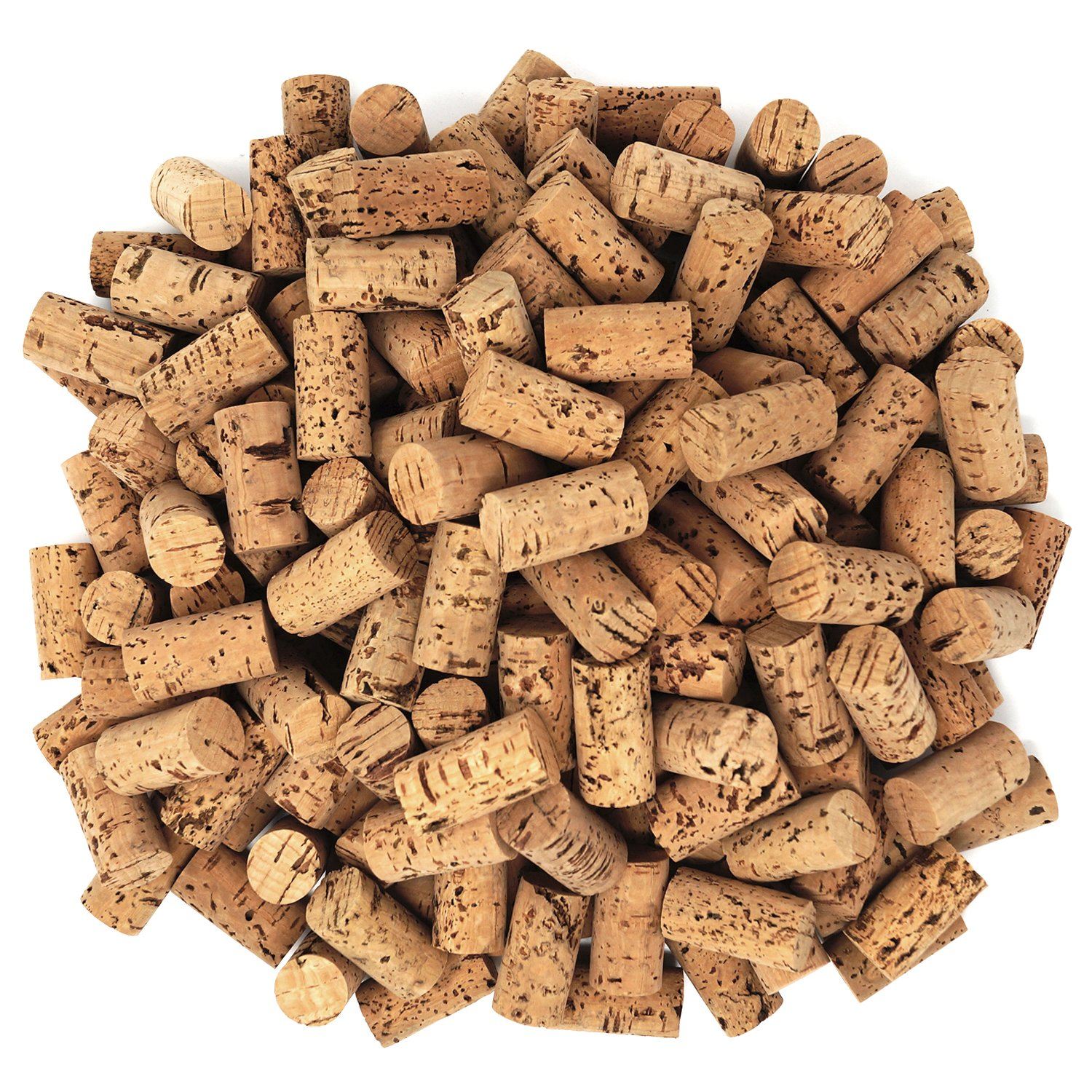 200 wine corks for crafts and arts or as decoration / bottle corks / cork stoppers / 24mm x 45mm famos-shop