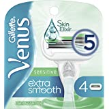 Gillette Venus Embrace Sensitive Women's Razor Blade Refills (Packaging may vary)