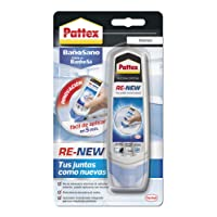 Pattex ReNew, silicona para renovar juntas antiguas, blanco, 100ml