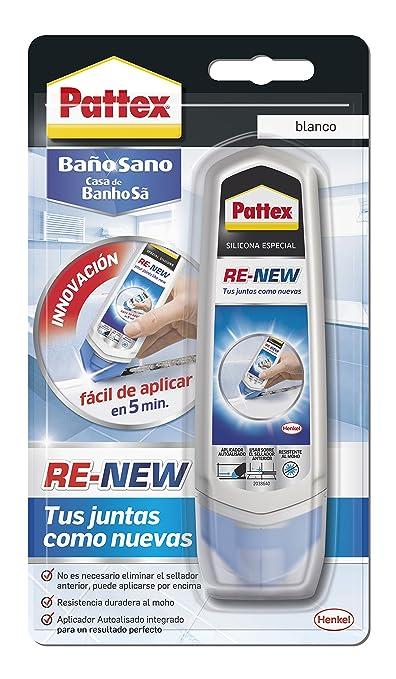 4 opinioni per Pattex Re-New- Silicone, colore bianco