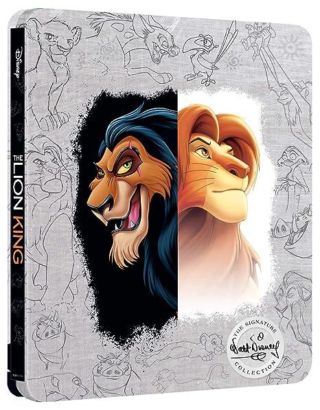 Le Roi Lion [4K Ultra HD + Blu-ray - Ãdition boîtier SteelBook]
