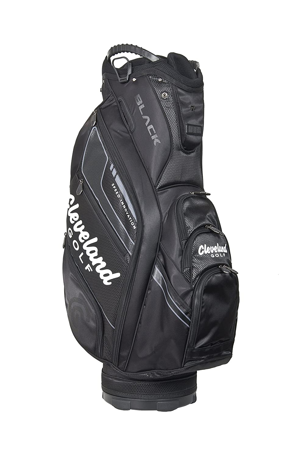 Cleveland CG Black Cart Bag - Bolsa para carro de golf, color negro