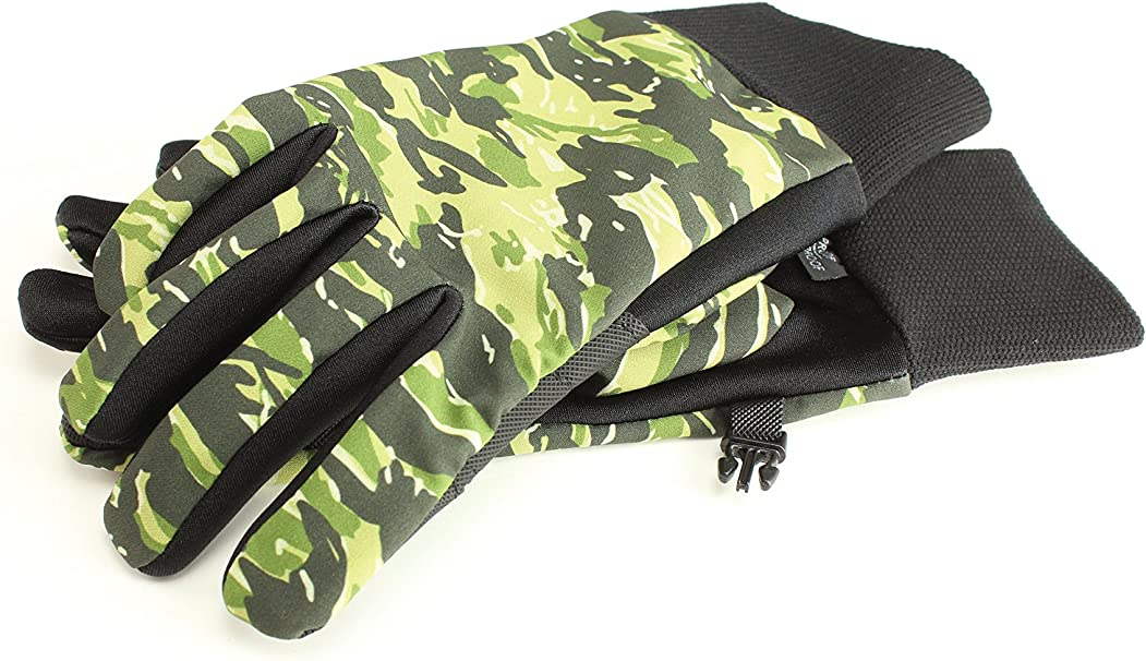 Seirus Innovation 1425 Mens Lightweight Form Fit All Weather Polartec Camo  Glove TOP SELLER