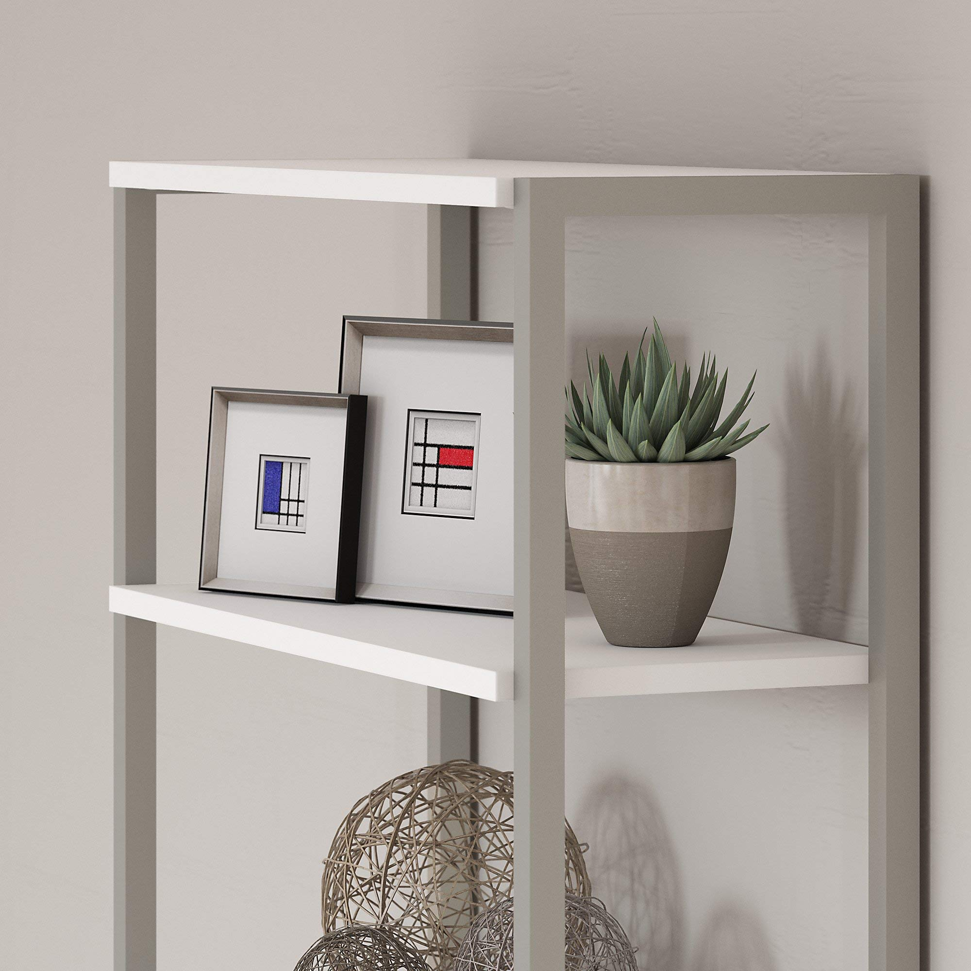 Office by kathy ireland Method Bookcase Hutch in White by Kathy Ireland Office (Image #3)