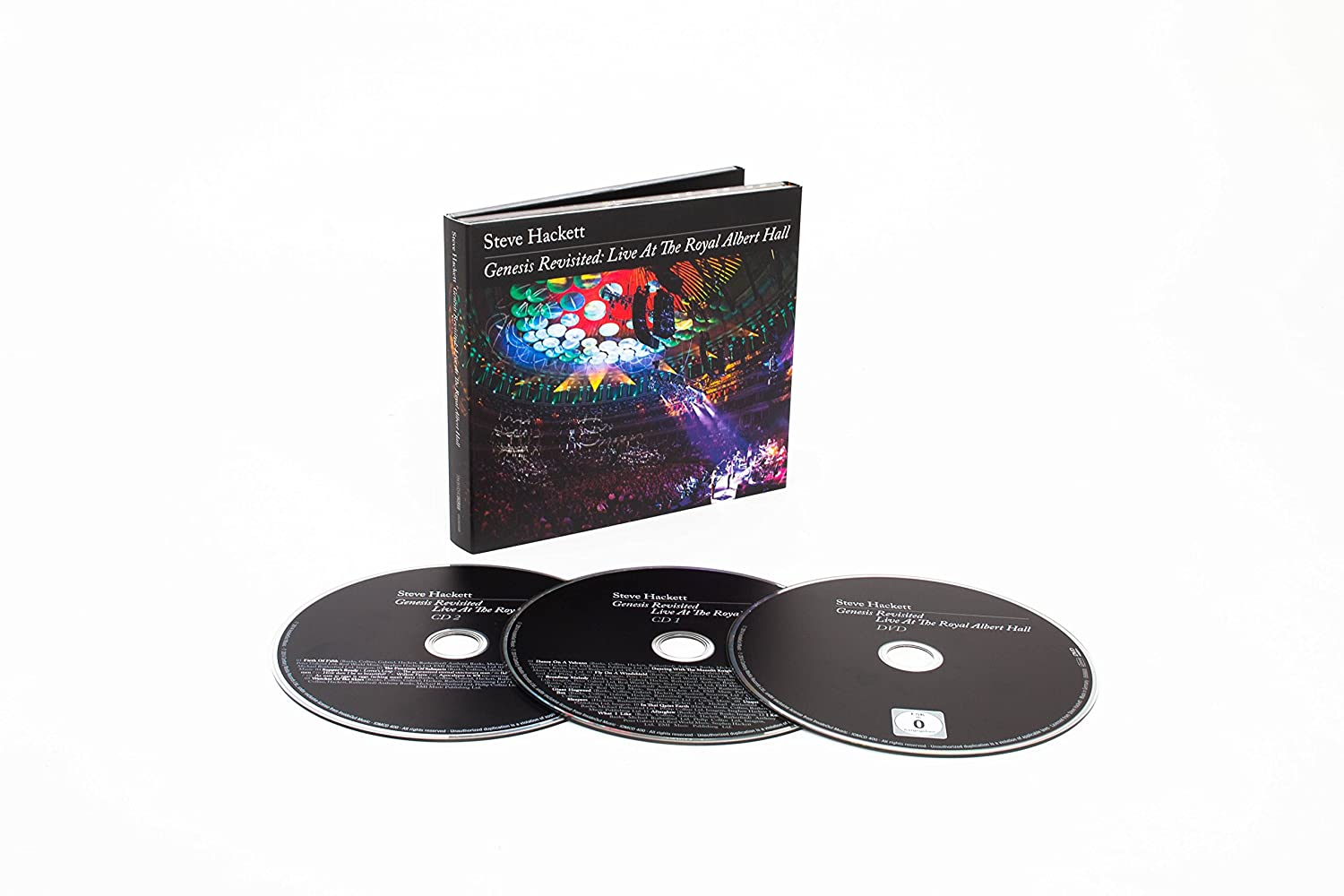 STEVE HACKETT - Genesis Revisited-Live at the Royal Albert Hall - Amazon.com Music