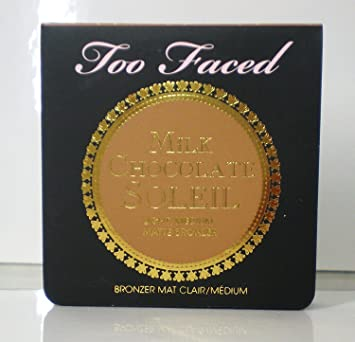 80cefe70ac52 Too Faced Milk Chocolate Soleil Light/Medium Matte Bronzer mini 0.08 oz.