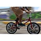 "SHO-GO's Chrome 20"" Wheel Covers for Bikes"