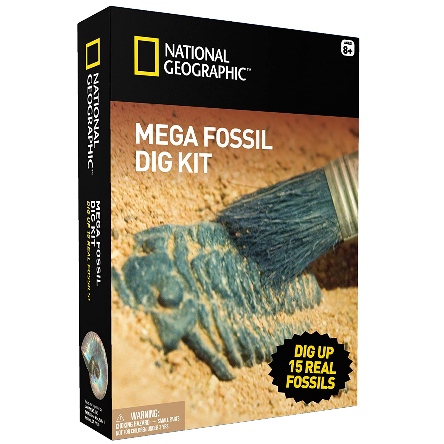 Mega Fossil Mine - Dig Up 15 Real Fossils with NATIONAL GEOGRAPHIC Discover with Dr. Cool NGSUPERFOS