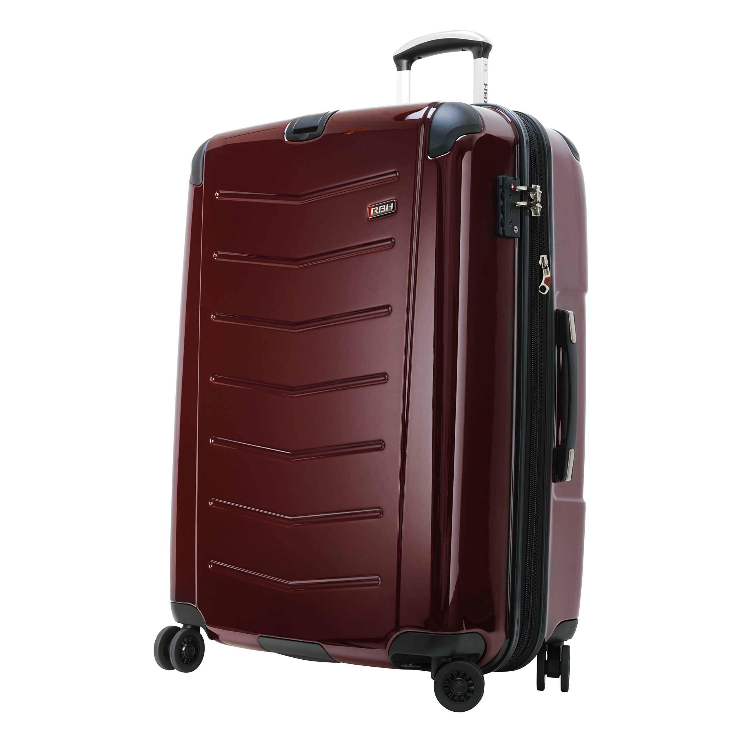 Ricardo Beverly Hills Luggage Rodeo Drive 29-Inch 4-Wheel Expandable Upright, Black Cherry, One Size by Ricardo Beverly Hills (Image #2)