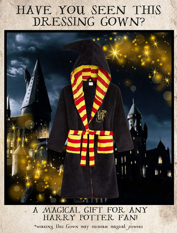 Hogwarts Bademantel Jungen Und Madchen 7 14 Jahre Fleece Morgenmantel Jungen Harry Potter Bademantel Kinder Kuschelig Plusch Kinderbademantel Junge