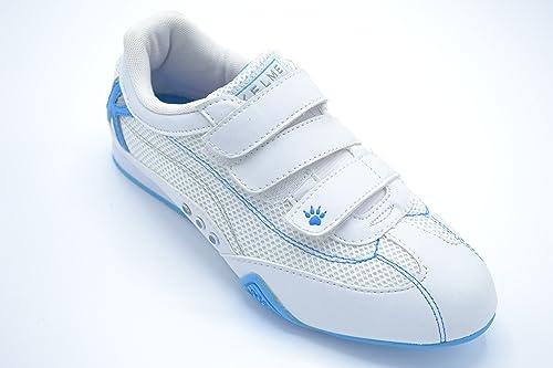Kelme Tachi - Zapatilla Deportiva con Cierre de Velcro para Mujer. Talla 36: Amazon.es: Zapatos y complementos