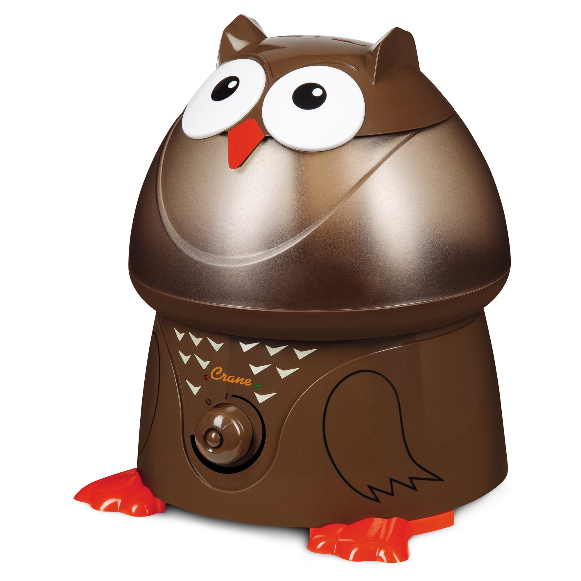 Crane USA Filter-Free Cool Mist Humidifiers for Kids, Owl