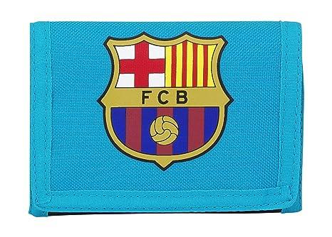 Safta Barça 3 Monedero, Color Azul Turquesa: Amazon.es: Equipaje
