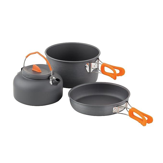 Chub 3 Pieces Cook Set 1405688 Kochgeschirr Topf Pfanne Wasserkessel Kochs