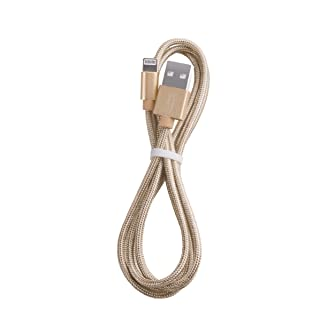 LuMee Lightning Cable for iPhone 5 & later models - Gold