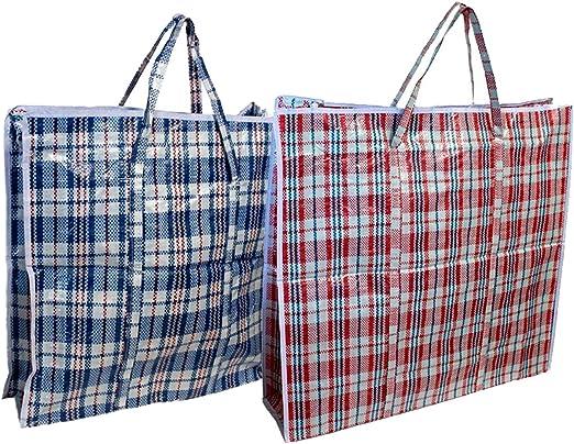 EM Home Pack de 12 Bolsas de Rafia 85 x 60 x 30 cm Color Surtido ...