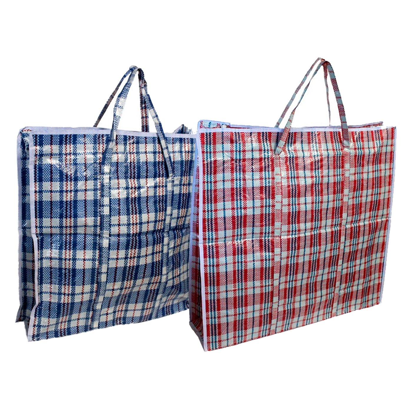 EM Home Pack de 12 Bolsas de Rafia 90 x 70 x 30 cm: Amazon ...