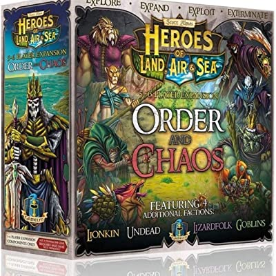 Heroes of Land, Air & Sea Order and Chaos Expansion: Toys & Games