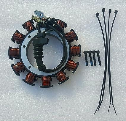 Amazon.com: HARLEY DAVIDSON STATOR 2000 SOFTAIL 2000-03 DYNA 29951 on harley ignition wiring, harley isolator wiring, harley relay wiring, harley generator wiring, harley tachometer wiring, harley wiring harness, harley starter wiring, harley speedometer wiring, harley solenoid wiring, harley regulator wiring, harley handlebar wiring, harley wiring diagram, harley switch wiring, harley engine wiring, harley circuit breaker wiring, harley magneto wiring, harley coil wiring,