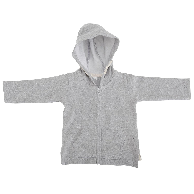 BABYBUGZ Unisex Baby Full Zip Brushed Fleece Hoodie