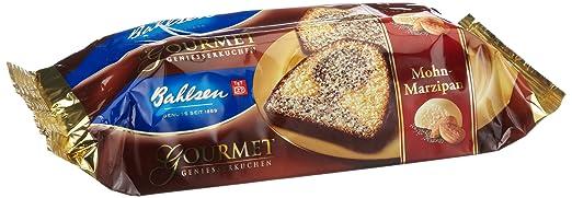 Bahlsen Gourmet Mohn Marzipan Kuchen 2er Pack 2 X 400 G Amazon
