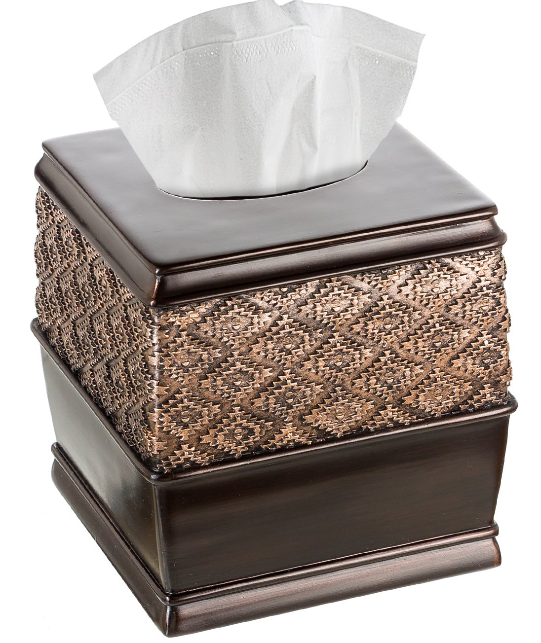 Creative Scents Dublin Square Tissue Box Cover (6