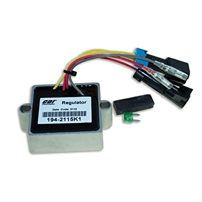 CDI Electronics 194-2115K 1 Mercury/Mariner Voltage Regulator - 2/3/4/6 Cyl (1999-2007): Automotive
